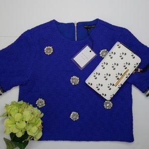 Endless Rose Tweed SS Sweater